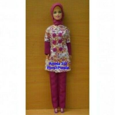 Handmade Muslim Doll Clothes Hijab Shoes Islamic Doll Outfit Girls Eid Gift Girls Ramadan Gift Hijabi Doll Clothes