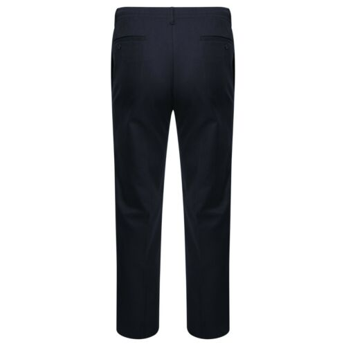 """Mens Elasticated Waist Casual Straight 27/"""" Inside leg to 31/"""" Rugby Trouser Pant"""