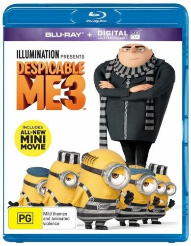 1 of 1 - Despicable Me 3 (Blu-ray, 2017), NEW SEALED AUSTRALIAN RELEASE