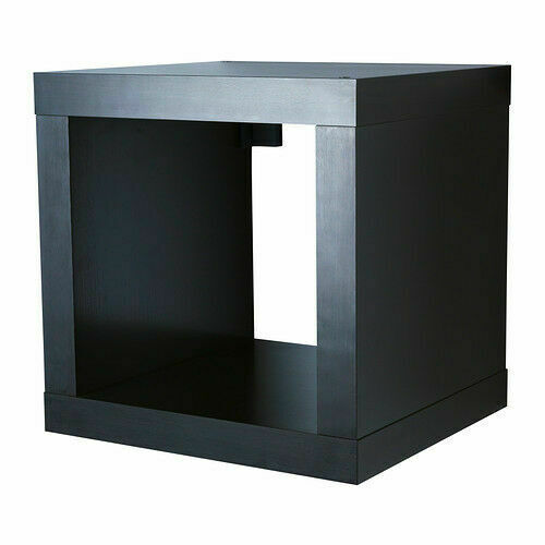 IKEA Kallax Shelving Unit Bookcase Wall Shelf Room Divider Stand Shelf Filing Cabinet Black//Br