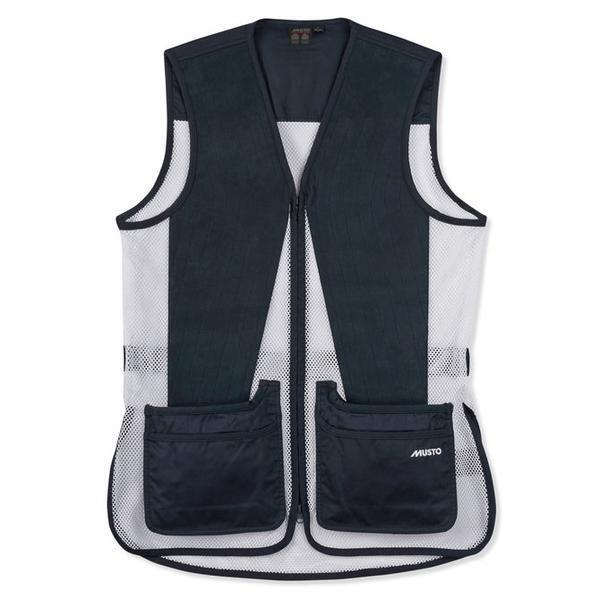 Musto Competition Skeet Vest True Navy bluee White Hunting Shooting Clay Pigeon