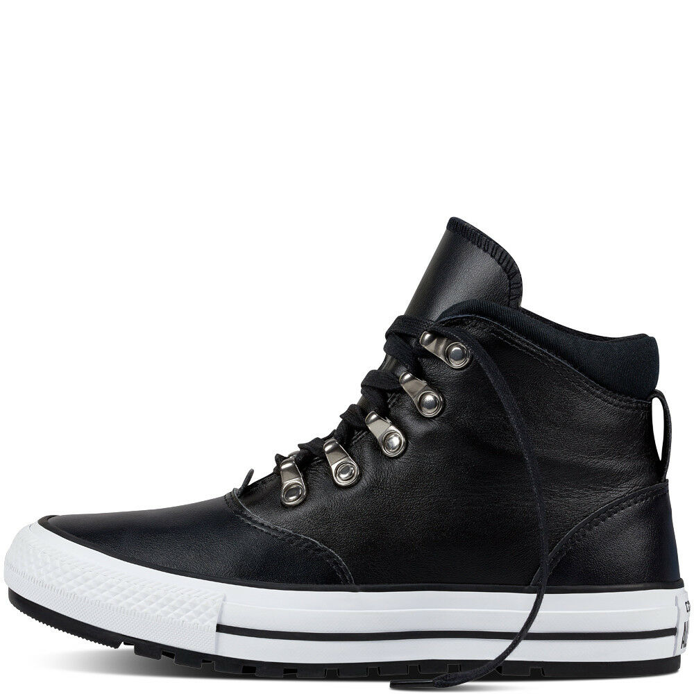 Zapatos promocionales para hombres y mujeres CONVERSE CTAS EMBER BOOT HI - LEATHER - WOMENS HI-TOP TRAINERS/BOOTS -BLACK 4.5