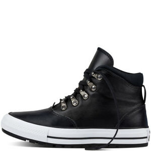 mujer Ember Hi 4 de botas negro 5 altas Zapatillas para cuero Converse Ctas Boot q5R44v