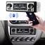 Car-1Din-MP3-Player-Bluetooth-Microphone-Hands-free-Calls-FM-Stereo-Radio-USB-SD thumbnail 1