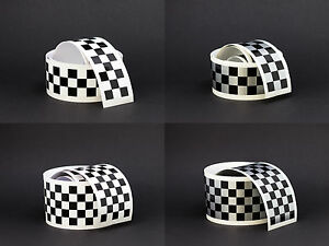 Checkered Universal Motorcycle Cafe Racer Racing Vinyl Stripe Tape - Vinyl stripes for motorcyclescheckered universal motorcycle cafe racer racing vinyl stripe tape
