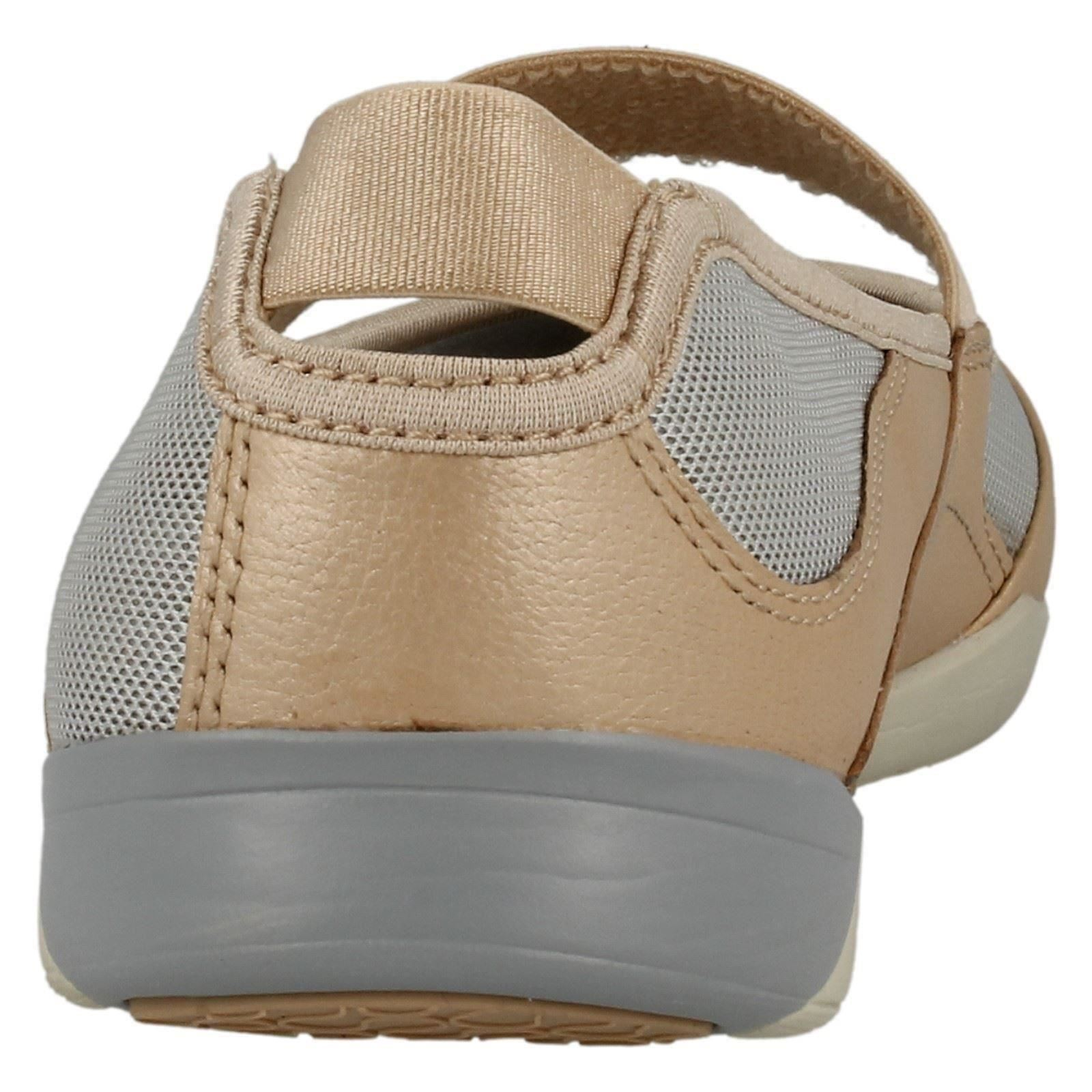 Clarks 'Amorie Dance' Ladies Grey Shoes for Studio Activies/Exercise shoes