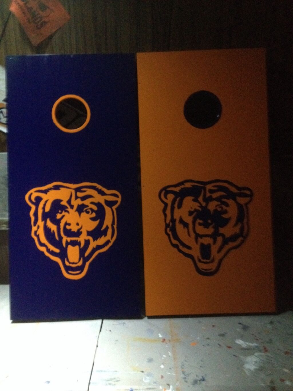 Corn hole boards and bags