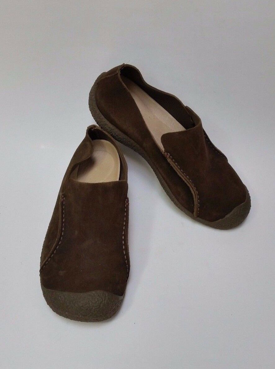 Keen shoes Slip-On Flats Brown Suede Womens Size 8.5 US 41 EU