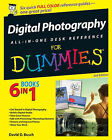 Digital Photography All-in-One Desk Reference For Dummies by David D. Busch (Paperback, 2006)