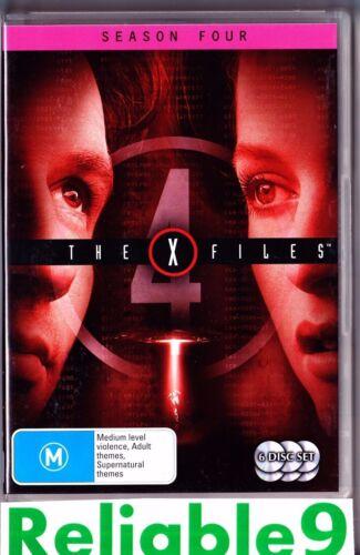 1 of 1 - The X Files - Season Four 6-Disc Set DVD +Special features- 2007 Fox Australia
