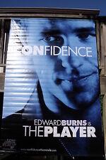 "CONFIDENCE - Edward Burns - Vinyl Movie Banner - 2003 SS C9 (52"" x 78"")"
