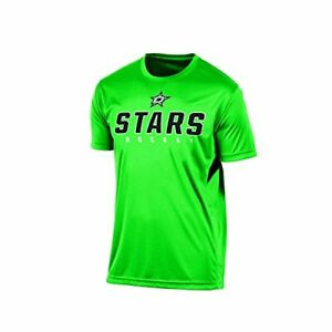 Knights-Apparel-NHL-Dallas-Stars-Men-039-s-Tee-Medium-Green