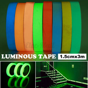 9.8ft Luminous Tape Self Adhesive Glow In The Dark Wall Sticker Stage Decor