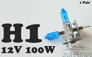 H1-12V-100W-Xenon-White-6000K-Light-Fog-Car-Headlight-Lamp-Globes-Bulbs-LED-HID