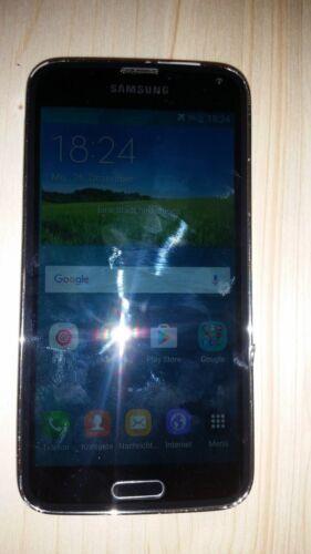 1 von 1 - Samsung  Galaxy S5 SM-G900F - 16GB - Charcoal Black *Touch defekt*