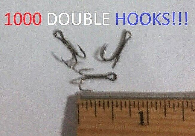 1000 Eagle Claw Sz.10 Bronze Special Double Hooks (1307M-10) (1307M-10) (1307M-10) EB090301 f148d9
