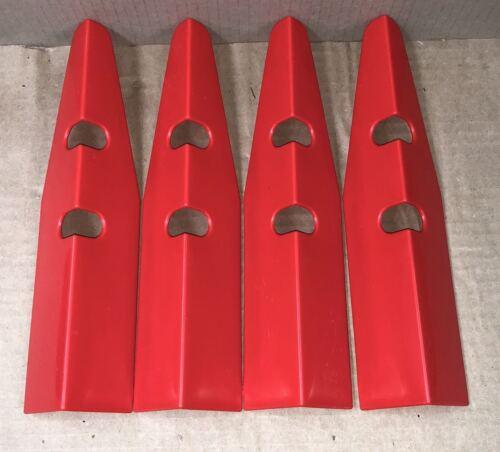 set of 4 red Leg Protectors Pinball Machine Part