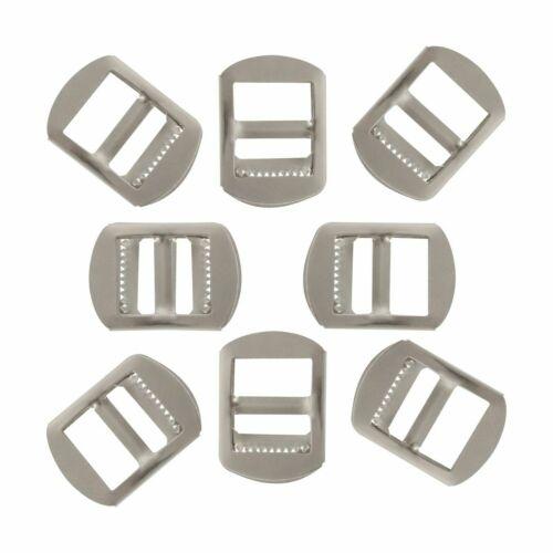 Metal 15//17mm Adjust Roller Pin Shoe Buckle DIY Leathercraft Footwear Webbing