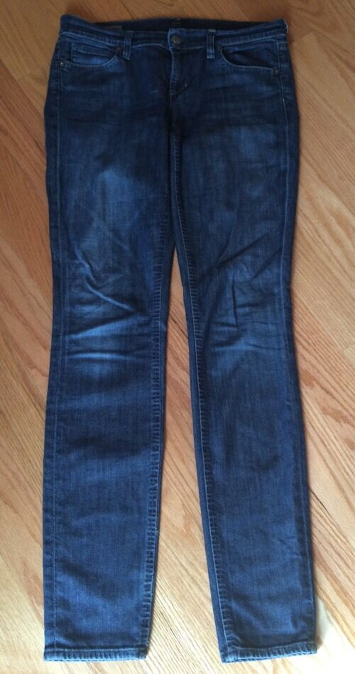 Citizens Of Humanity Women's Dark Wash Indigo Skinny Jeans Pants. Size 27.