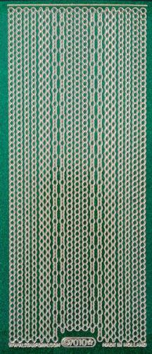 Glittersticker Sticker Bordüren glitzernd verschiedene zur Auswahl