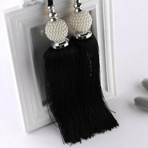 Large-Curtain-Tie-Backs-Beaded-Ball-Tassel-Rope-HoldBacks-Home-Decor-NP2