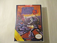 Megaman 3 Nintendo Custom Nes Case With Artwork (no Game)