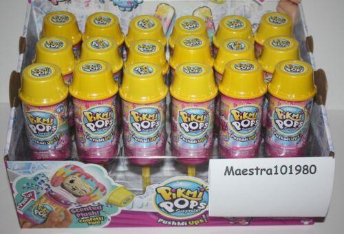 Pikmi Pops Surprise Pushmi up confetti pop Scented Push Ups Full Case lot of 18