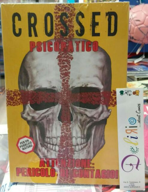 CROSSED N.3 PSICOPATICO - Ed. PANINI COMICS - SCONTO 20%