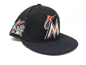 0260c23c Details about New Miami Marlins New Era 2017 All-Star Black Home Run Derby  Snapback Hat