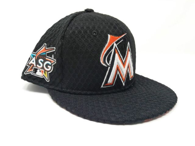 on sale 6761e f2e72 New Miami Marlins New Era 2017 All-Star Black Home Run Derby Snapback Hat