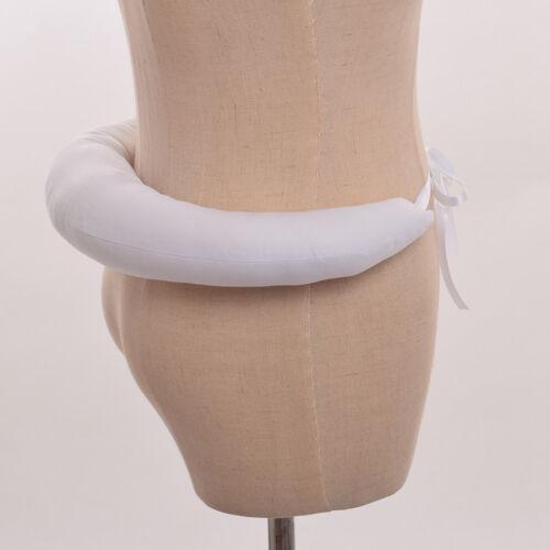 1pc Vintage White Hanover Bustle Elizabethan Tudor Medieval Gowns Bum Roll