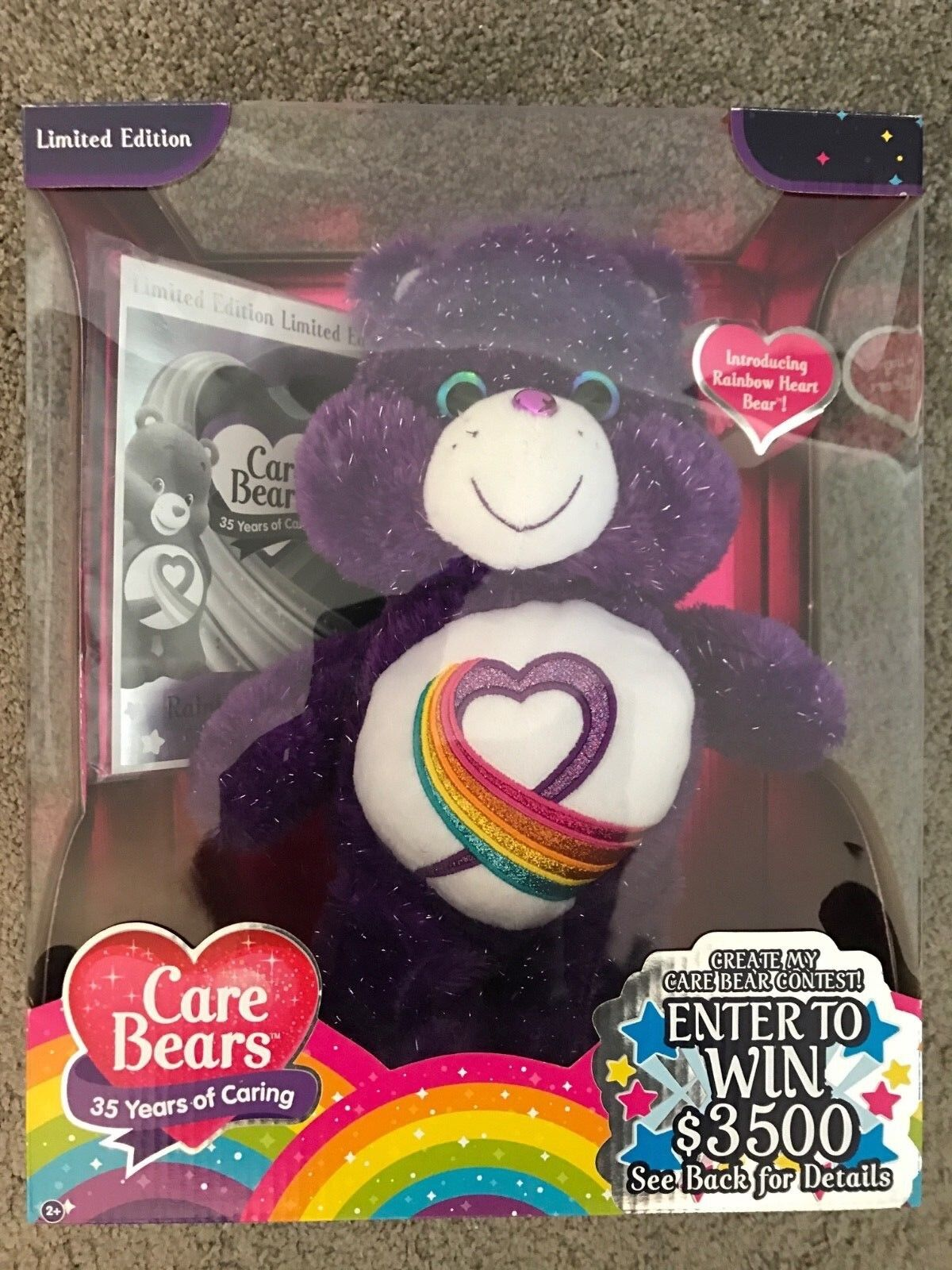 TOY: The Purple Heart �CARE BEAR