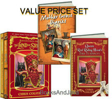 The Land of Stories: Adventures from the Land of Stories Boxed Set : The Mother Goose Diaries and Queen Red Riding Hood's Guide to Royalty by Chris Colfer (2015, Hardcover)