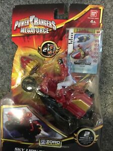 Power rangers megaforce sky lion red ranger cycle motorcycle red