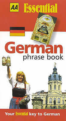 """""""AS NEW"""" Day, Robin, German Phrase Book (AA Essential Phrase Book), Paperback Bo"""