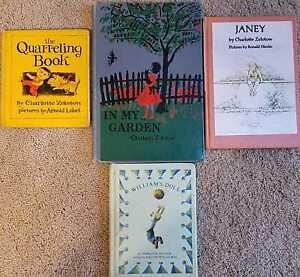 Set-of-4-Charlotte-Zolotow-Vintage-Books