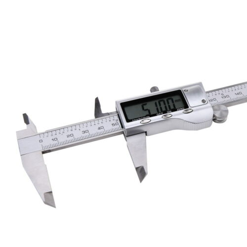 "6/"" 150mm Stainless Steel Electronic Digital LCD Vernier Caliper Micrometer Guage"