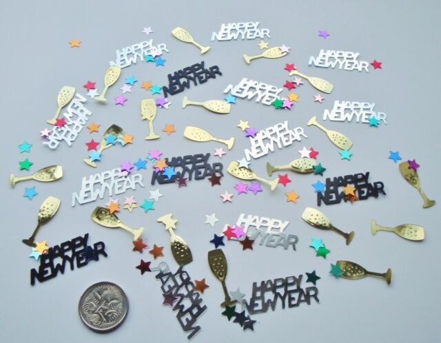 Wedding Table Scatters Confetti Happy New Year - Party Mix BUY 1 GET 1 FREE