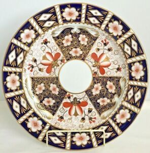RARE-ROYAL-CROWN-DERBY-2451-TRADITIONAL-IMARI-14-INCH-CHOP-PLATE-ROUND-PLATTER