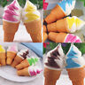 10cm Ice Cream Squishy Bun Cake Slow Rising Bread Toy Phone Straps Stress Relief