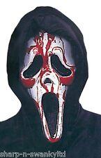Pour Hommes Femmes Saignant Scream Halloween Masque Visage