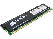 Corsair XMS 512 MB DDR RAM, DDR SDRAM, DDR400, PC3200, CL2, CMX512-3200C2, DIMM