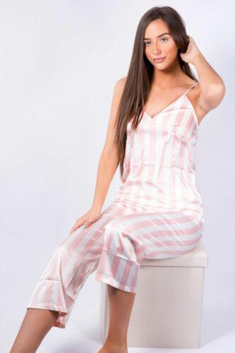 Pink stripe Pyjama set Nightwear Sleepwear