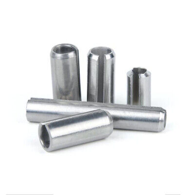 304 A2 Stainless Spring Tension Pins Slotted Roll Pins DIN7346 M1.5 M2 M2.5 M3