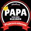Papa von 2 Prinzessinnen Herren T-Shirt Shirt Geburtstag Geburt Geschenk Tochter