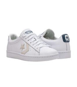 8884170c2926d9 Converse PL 76 OX Mens Shoes (NEW) White Leather LUNARLON INSOLES ...