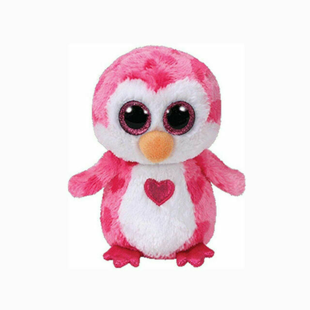 6 inch TY Beanie Boos OWLETTE the Owl - MWMTs Boo Toy Glitter Eyes