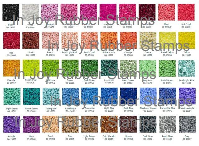 Great Kid's Gift BULK 50,000 Perler Beads 1000 x 50 Colors