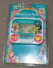 Vtg Branca de Neve e Os Sete Anoes Brazilian Tec Toys Handheld Video Game Disney