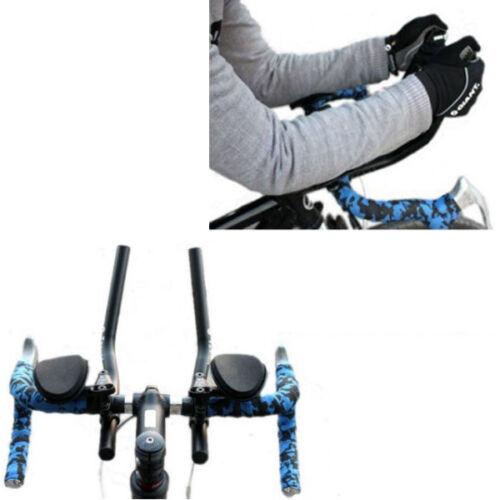 31.8mm shim Road Mountain Bike Bicycle Alloy Triathlon Aero Rest Handle Bar 22